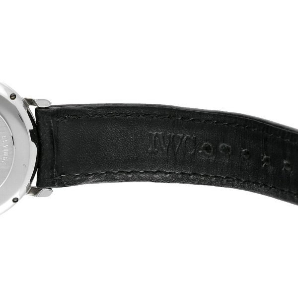 IWC IW3513 24 Portofino Steel Leather White Dial Date Automatic Mens Watch 114022772751 7