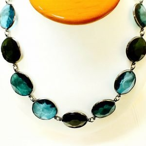 Joan Rivers Beautiful Faceted Bead Black Finish 39 Necklace 112049272931