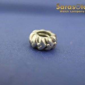 100 Authentic Pandora ALE Sterling Silver 925 Ribbed Charm 131904040742