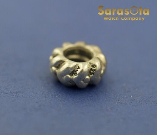 100 Authentic Pandora ALE Sterling Silver 925 Ribbed Charm 131904040742 4