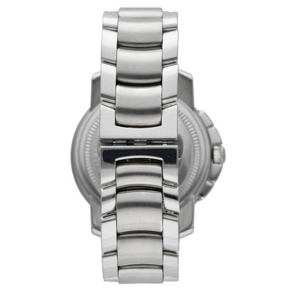 Baume Mercier Capeland Chronograph Stainless Steel Swiss Automatic Wrist Watch 133657231482 6