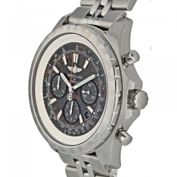 Breitling A25365 Bentley Limited Edition 48mm Steel Carbon Automatic Mens Watch 124542410772 3