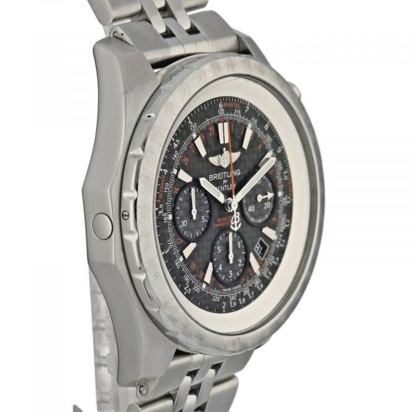 Breitling A25365 Bentley Limited Edition 48mm Steel Carbon Automatic Mens Watch 124542410772 4