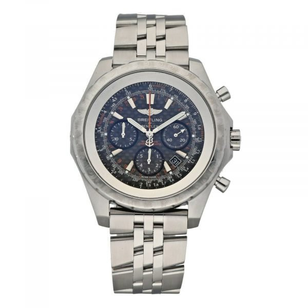 Breitling A25365 Bentley Limited Edition 48mm Steel Carbon Automatic Mens Watch 124542410772