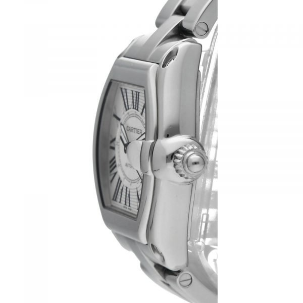 Cartier Roadster 2510 Silver Dial Large Stainless Steel Automatic Mens Watch 124458510472 3