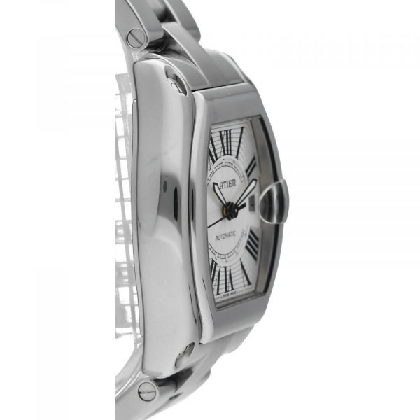 Cartier Roadster 2510 Silver Dial Large Stainless Steel Automatic Mens Watch 124458510472 4