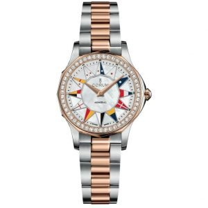 Corum Admirals Cup Legend 32 A40002902 Two Tone Diamond Automatic Womens Watch 114356670632