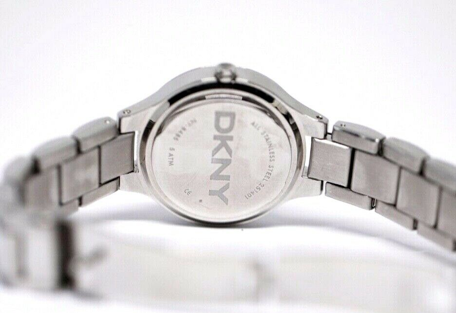 DKNY NY 8485 MOP Dial Stainless Steel 30mm Crystal Accent Quartz Womens Watch 123717640412 7