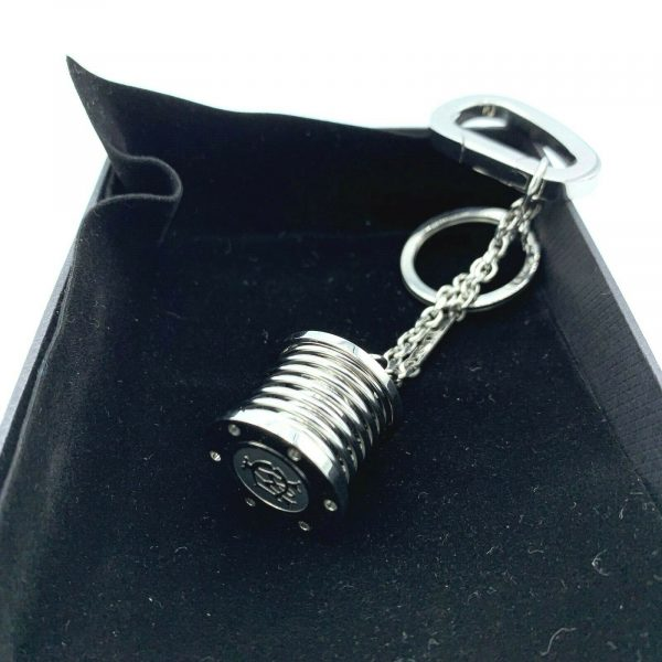 Dunhill JLK0804 Stainless Steel Suspension Spring 5 Hanging Keychain Gift 123809229402