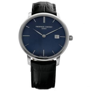 Frederique Constant Slimline FC 306G4S6 Steel 40mm Leather Automatic Mens Watch 133442666422