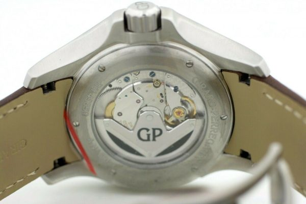 Girard Perregaux 49650 Traveller Large MoonPhases Leather Automatic Mens Watch 114155217402 11