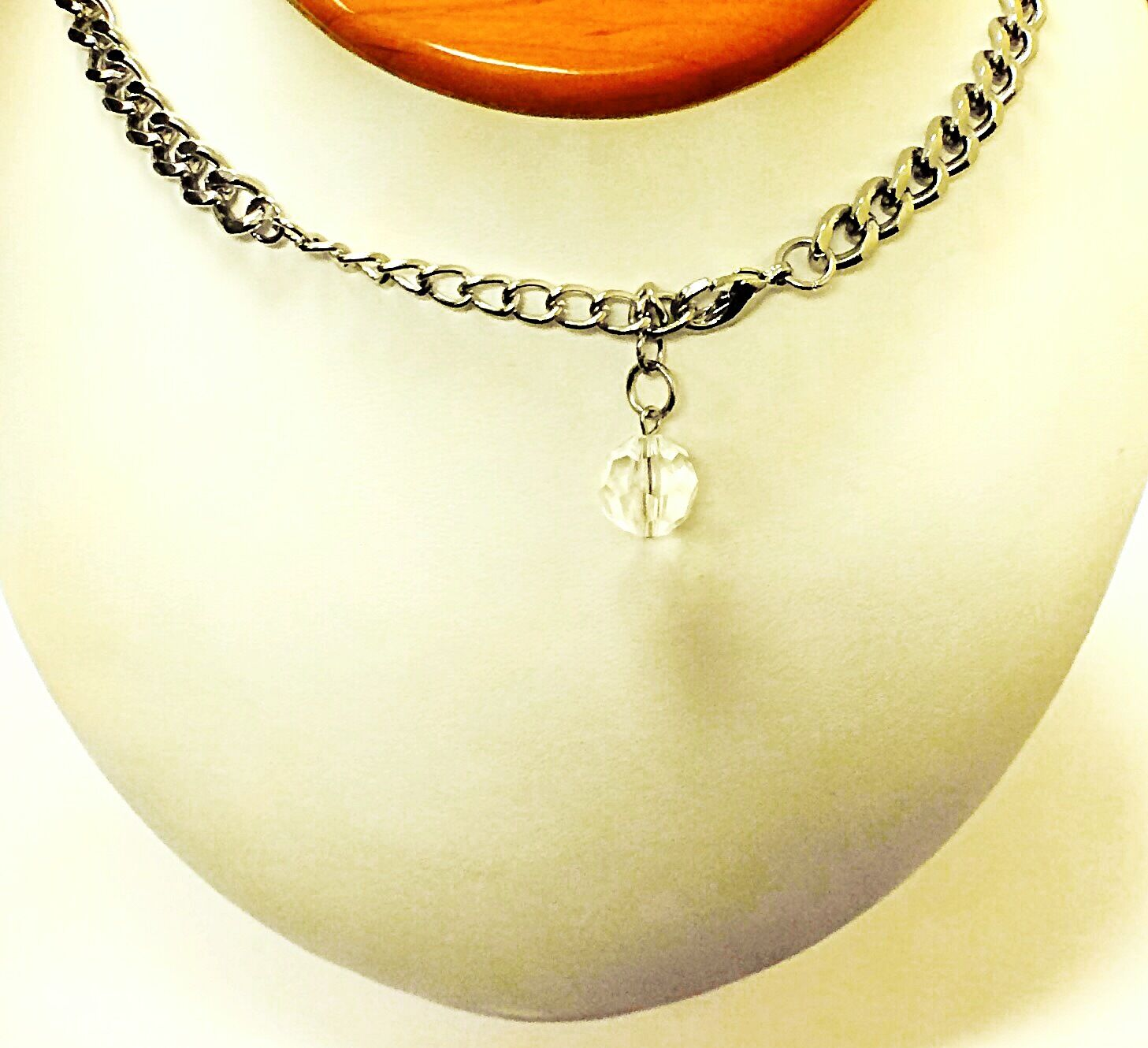 3 Layer 21 Womens Fashion Necklace Synthetic Stones 112043653633 2