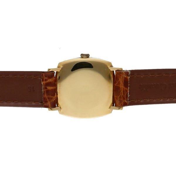 BaumeMercier Geneve 18K Yellow Gold Brown Leather Strap Dress Womens Watch 114155217403 8