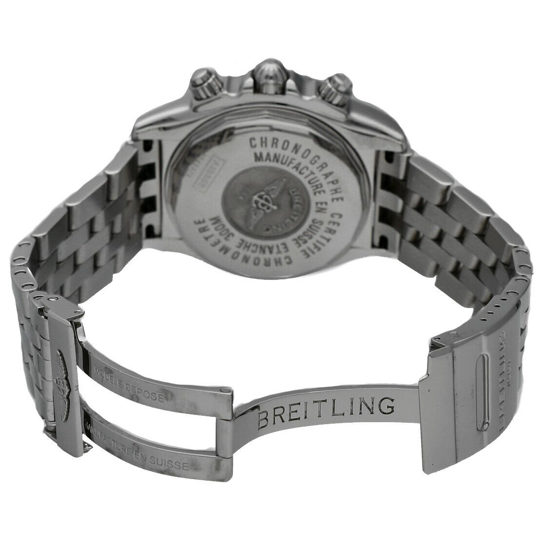 Breitling A13356 Chronomat Black Dial Chronograph Steel 44 Automatic Mens Watch 114241901873 4