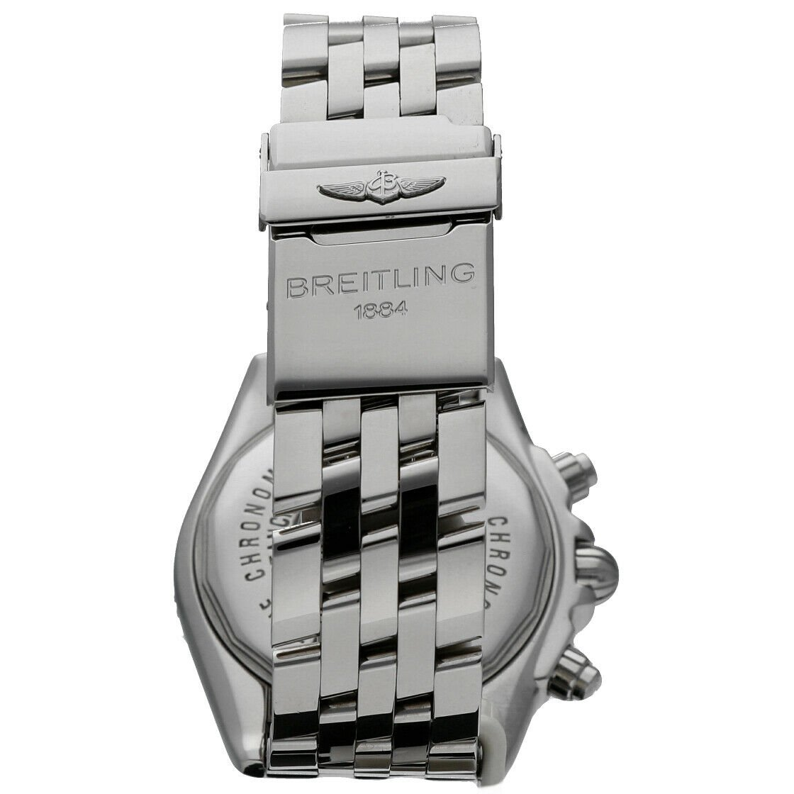 Breitling A13356 Chronomat Black Dial Chronograph Steel 44 Automatic Mens Watch 114241901873 5