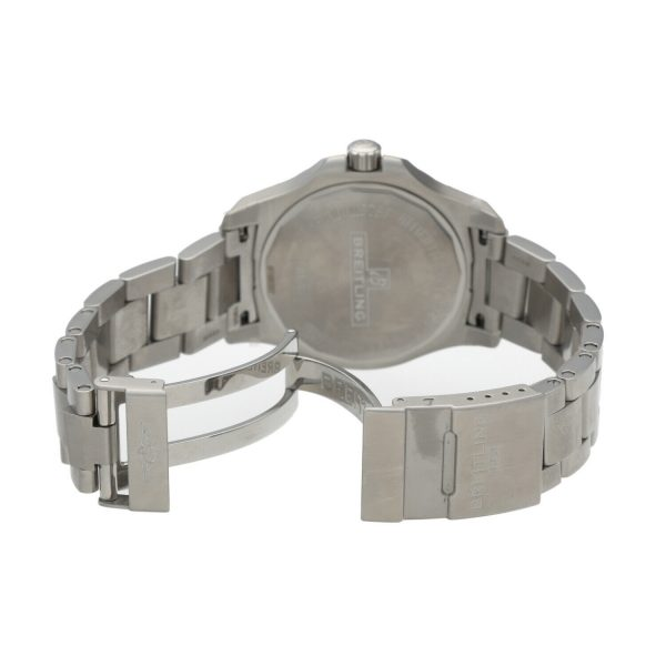 Breitling A17313 Colt Gray Dial Stainless Steel 41mm Automatic Mens Watch 133806007603 6