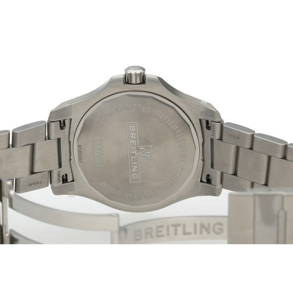 Breitling A17313 Colt Gray Dial Stainless Steel 41mm Automatic Mens Watch 133806007603 7