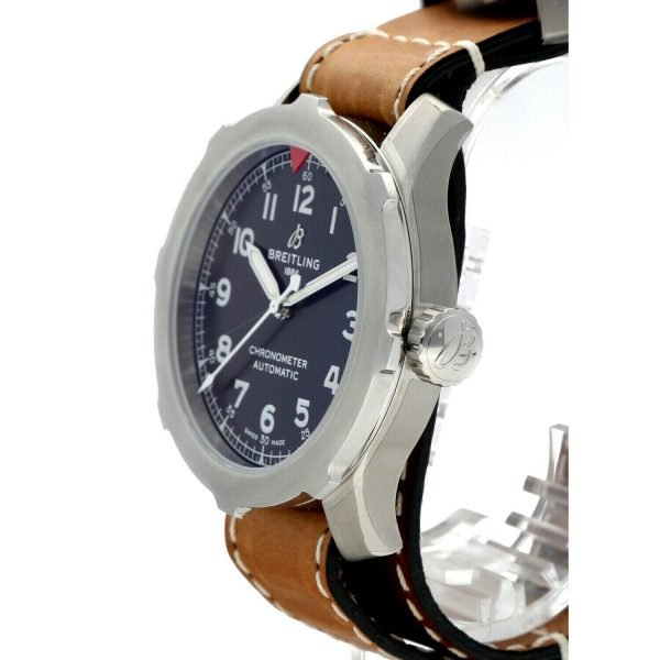 Breitling-AB2040-Aviator-Super-8-B20-Steel-46mm-Leather-Automatic-Mens-Watch-114731192193-3