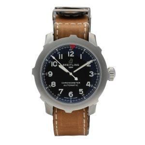 Breitling-AB2040-Aviator-Super-8-B20-Steel-46mm-Leather-Automatic-Mens-Watch-114731192193