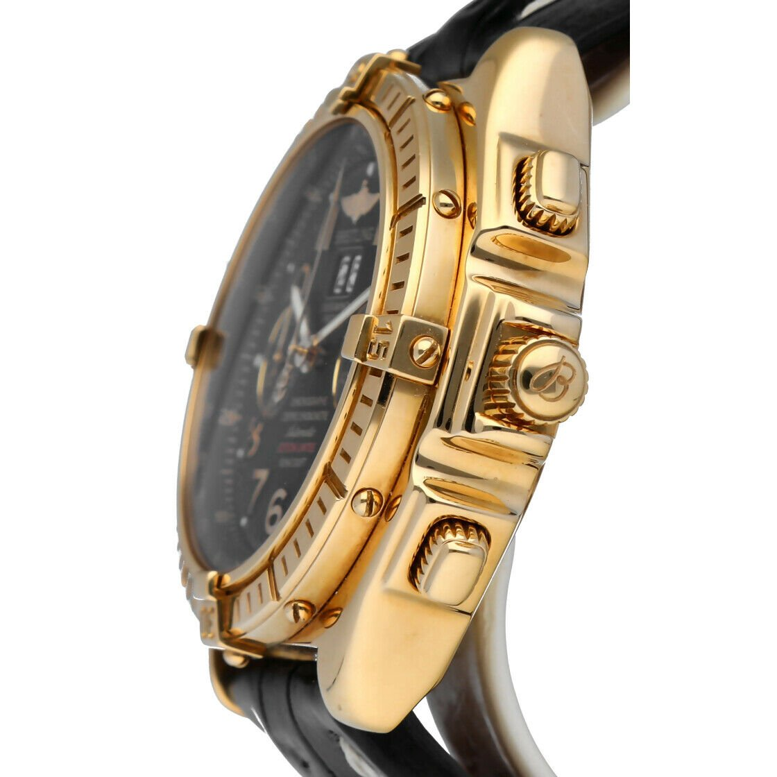 Breitling K44356 Crosswind 18k Yellow Gold Limited Edition Automatic Mens Watch 133527984163 3
