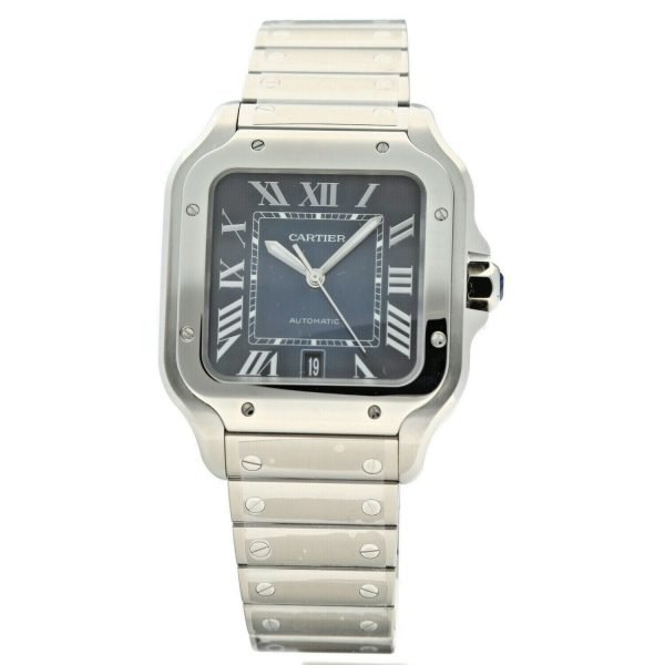Cartier-Santos-4072-Blue-Dial-Stainless-Steel-38mm-Swiss-Automatic-Mens-Watch-133752534653-2