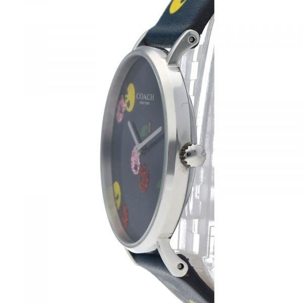 Coach CA1207141596 Multicolor Cherry Perry 36mm Leather Quartz Womens Watch 114573964093 2