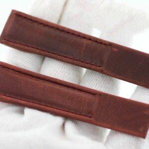 Corum 7310955 Reserve De Marche Genuine Leather Stitched Wristwatch Band 133577149363