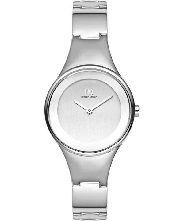 Danish Design IV62Q911 Silver Tone Dial Stainless Steel Classic Womens Watch 132009309783