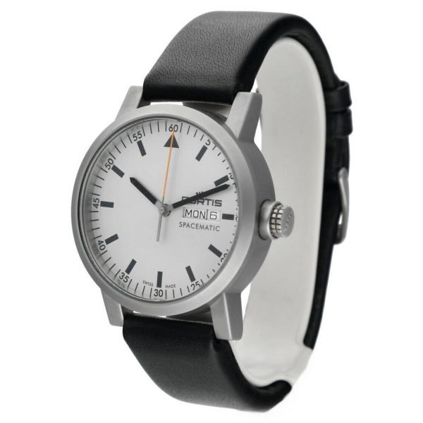 Fortis 62322158 Spacematic Day Date Stainless Steel 40mm Automatic Mens Watch 133498915683 2