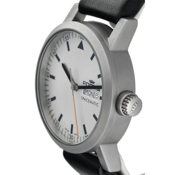 Fortis 62322158 Spacematic Day Date Stainless Steel 40mm Automatic Mens Watch 133498915683 3