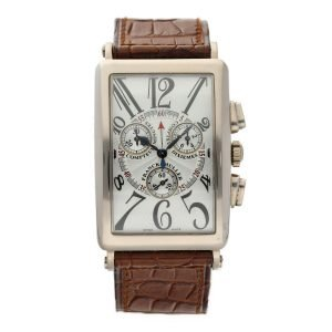 Franck-Muller-Long-Island-Chronograph-1000-CC-QZ-18k-White-Gold-Wrist-Watch-114741276663