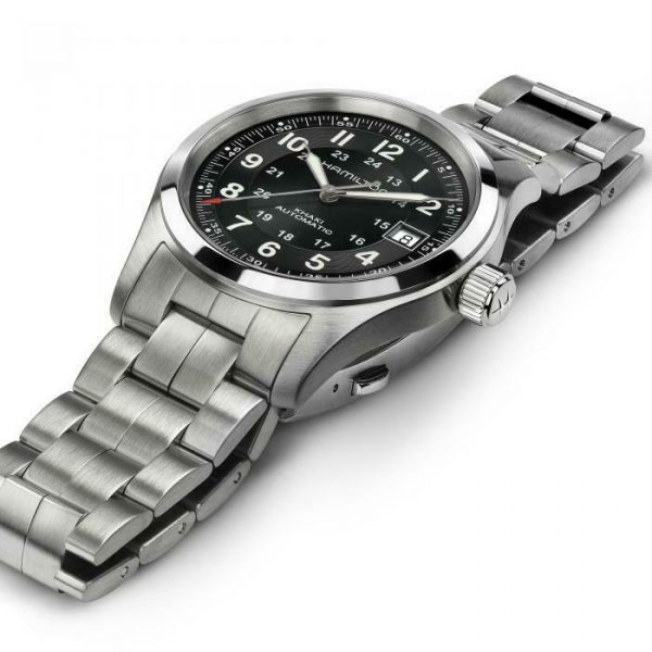 Hamilton H70455133 Khaki Field 38mm Stainless Steel Automatic Mens Watch 114910065033 2