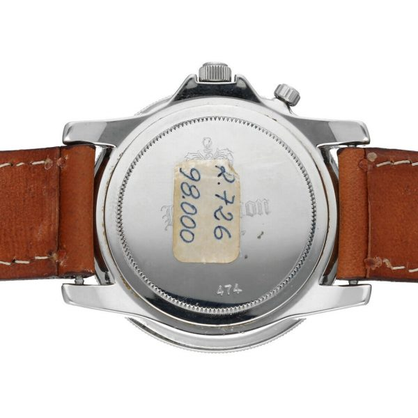 Hamilton RD Project Stainless Steel 40mm Leather Quartz Mens Watch 133498128473 8