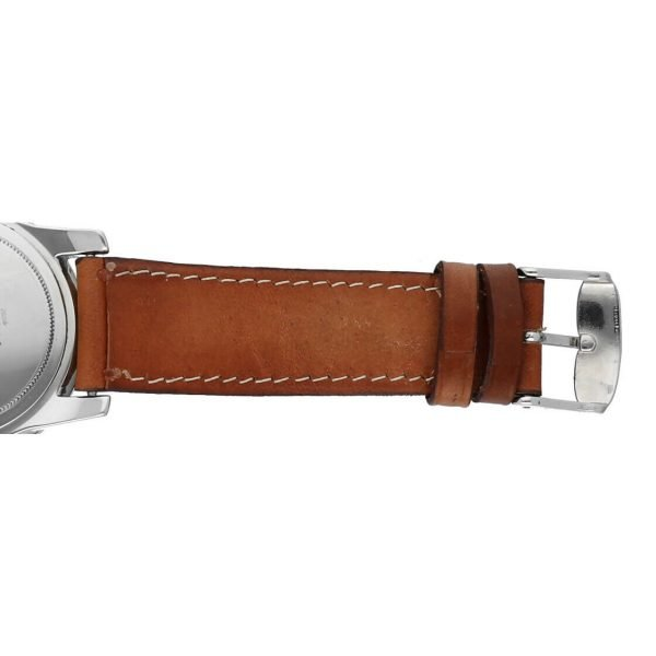 Hamilton RD Project Stainless Steel 40mm Leather Quartz Mens Watch 133498128473 9