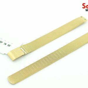 Skagen SKW2186 Gold Tone Replacement Mesh Bracelet 132289050383