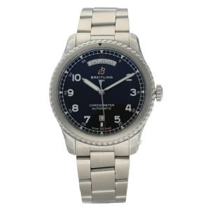 Breitling-A45330-Aviator-8-Day-Date-Black-Dial-Steel-41mm-Automatic-Mens-Watch-114731175654