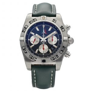 Breitling AB0110 Chronomat 44 Limited Edition Leather Automatic Mens Watch 133600038044
