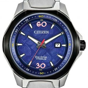 Citizen Eco Drive AW1548 86W Marvel 80th Anniversary Titanium Solar Mens Watch 133570222344