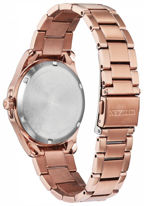Citizen Eco Drive FE7053 51X Drive Rose Gold Steel 35mm Solar Womens Watch 133570335734 2