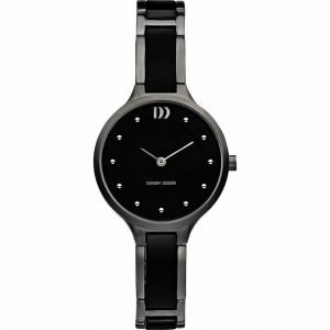 Danish Design IV63Q941 Black Dial TitaniumCeramic Quartz Classic Womens Watch 122238524544