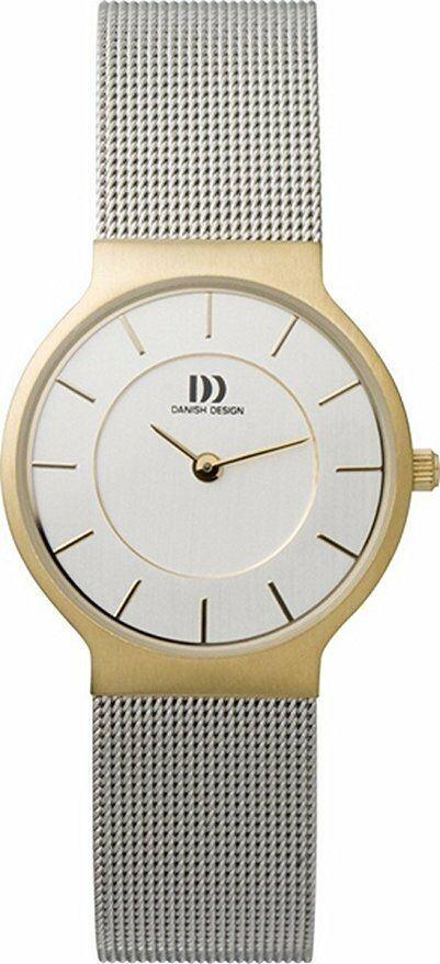 Danish Design IV65Q732 Silver Dial Two Tone Stainless Steel Quartz Womens Watch 132008512204