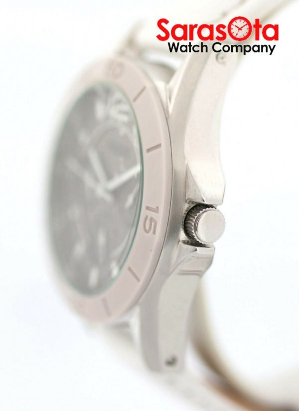 Fossil CE1065 DayDate Stainless Steel White Leather Quartz Dress Womens Watch 122009129144 5