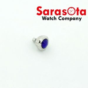 Genuine Seiko Case 4B39 0040 Pull Push Crown 6mm wSapphire Stainless Steel 123585198504