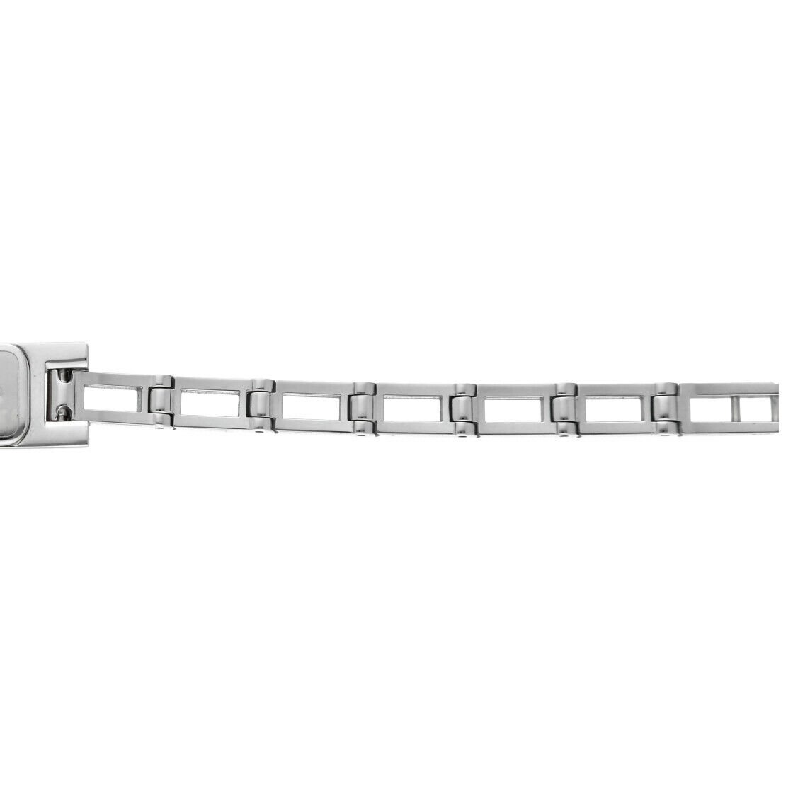 Gucci 3900L Stainless Steel Silver Dial Rectangle Swiss Quartz Womens Watch 133538249984 10