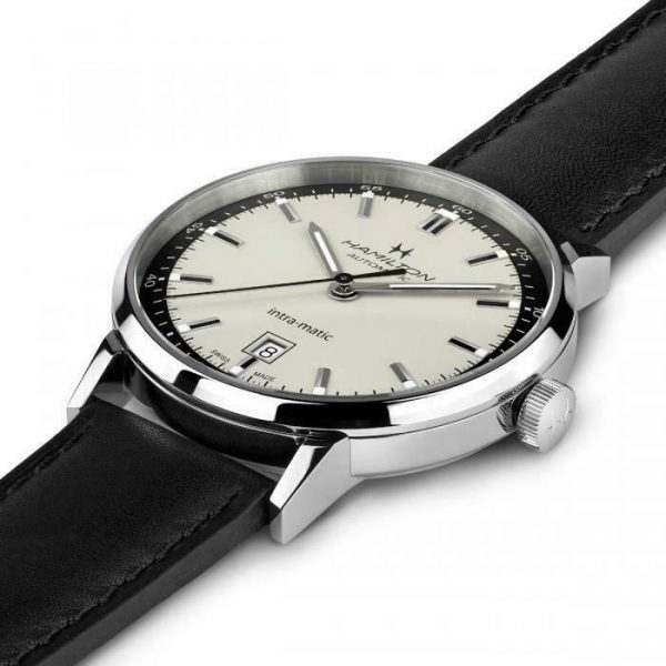 Hamilton H38425720 American Classic Intra Matic 40mm Steel Automatic Mens Watch 124826548514 2
