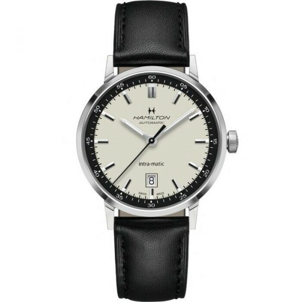 Hamilton H38425720 American Classic Intra Matic 40mm Steel Automatic Mens Watch 124826548514