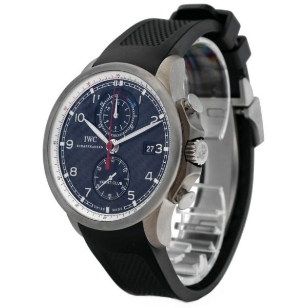IWC IW390212 Portuguese Yacht Club Volvo Ocean Race Rubber Automatic Mens Watch 114476381324 2