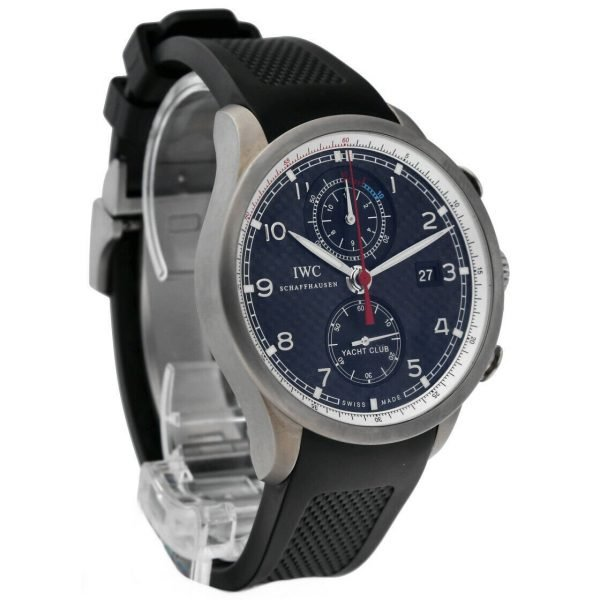 IWC IW390212 Portuguese Yacht Club Volvo Ocean Race Rubber Automatic Mens Watch 114476381324 5