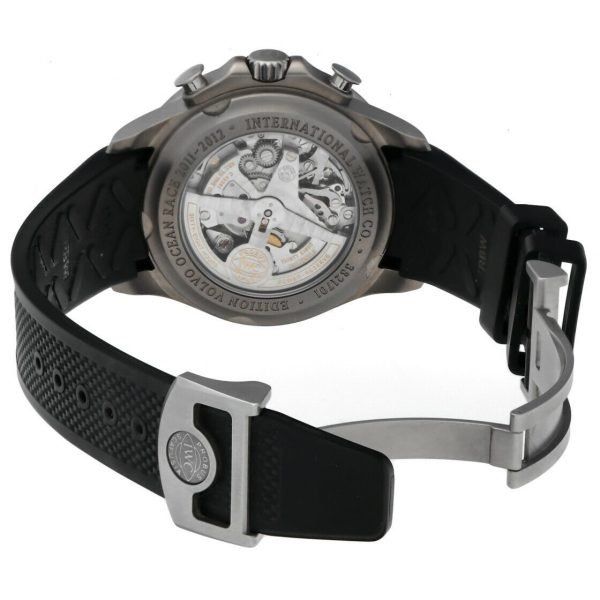 IWC IW390212 Portuguese Yacht Club Volvo Ocean Race Rubber Automatic Mens Watch 114476381324 6
