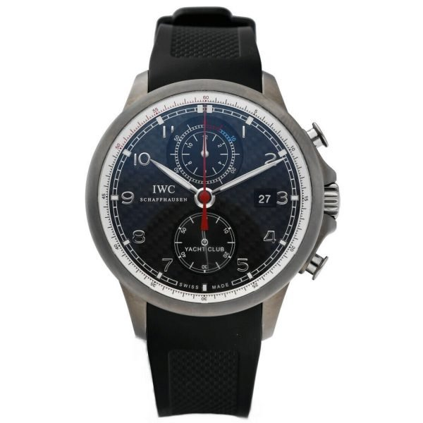 IWC IW390212 Portuguese Yacht Club Volvo Ocean Race Rubber Automatic Mens Watch 114476381324